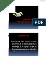 PRINCIPIOS DE LA GESTION DE LA CALIDAD 2