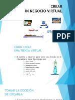 Crear Negocio Virtual