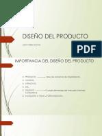 DISEÑO DEL PRODUCTO 123