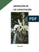 Elaboracion de Plan de Capacitacion