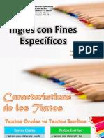 función comunicativa de los textos- Inglés II.pdf