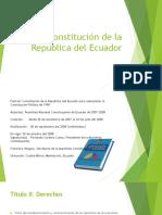 Constitución de la República del Ecuador y T Internacionales