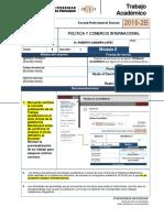 POLÍTICA Y COMERCIO INTERNACIONAL- trabajo