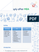 How to Apply after MBA - V3