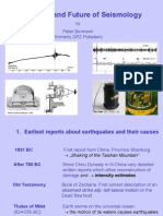 History and Future of Seismology