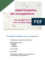 Diiversiidade metabólliica dos mo (fotos)