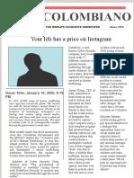 newspaper ARTICLE ENGLISH.pptx