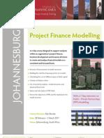 Project Finance Modelling - Johannesburg
