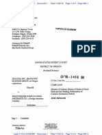 DULCICH, INC. v. WESTCHESTER SURPLUS LINES INSURANCE COMPANY Complaint