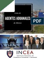 ListadeAgentesAduanales Mexico