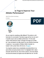 Can You Use Yoga to Improve Your Athletic Performance_