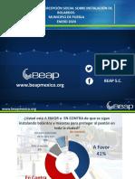 EVALUACIÓN SOBRE PERCEPCIÓN DE BOLARDOS EN PUEBLA ENERO 2020 FINAL.pptx