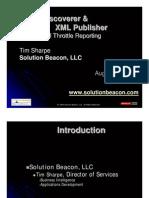 TSharp_SolBeac_Discoverer & XML Publisher - Full Throttle Reporting