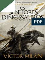 Victor Milán - Os Senhores dos Dinossauros (Oficial).pdf