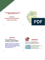 Capitulo 4-Estadistica inferencial