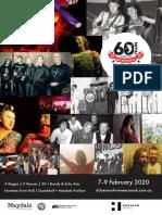 60 Years of Wimmera Rock program