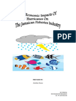 The Economic Impacts of Hurricanes on the Jamaican Fisheries Industry