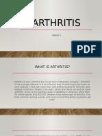 Group 3 - Arthritis.pptx