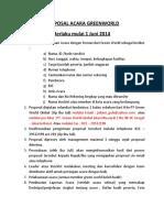 Persyaratan pengajuan Form klr kota  Jun 2014