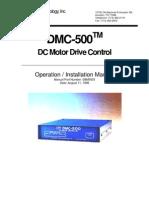 DMC500 Manual