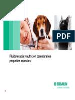 Fluidoterapia y nutrición parenteral en pequeños animales