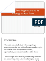 Types of Retailing Sector and Its Strategy In