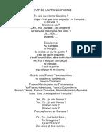 LE RAP DE LA FRANCOPHONIE.docx