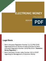 E-Money Presentation - Presentation