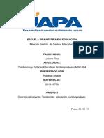 Tarea 1 de Tendencias y Políticas Educativas Contemporáneas MGC-104.docx