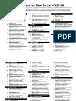Nurses Labs - Cram Sheet.pdf