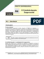 EMP 04 - O Estabelecimento Empresarial.pdf