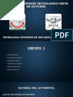 MECANICA DE PATIO (BATERIA DEL AUTOMOVIL).pptx