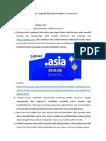 Langkah - Langkah Membuat Mobile E-Commerce