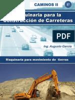 07.00 MAQUINARIA PARA LA CONSTRUCCION DE CARRETERAS