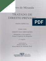 Pontes de Miranda - Tratado de Direito Privado - Tomo XXII - Capítulo I - Conceito de direito das obrigações