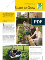 Creating Space to Grow - BTCV Scotland