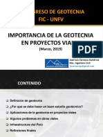 Geotecnia en proyectos viales-Ing. José Luis Carrasco Guitierrez