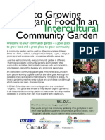 Guide to Growing Organic Food in a Community Garden - YMCA Vancouver, Canada