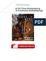 Ebook Free The Wheel Of Time Roleplaying Game D20 3 0 Fantasy Roleplaying.pdf