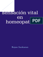 Sankaran Sensacion Vital en Homeopatia Contents Reading Excerpt