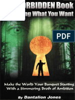 Dantalion Jones The Forbidden Book of Getting What You Want OCR AFR