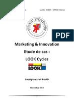 Dossier Marketing Innovation Look Nicolas MIASKIEWICZ