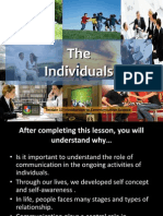 The Individuals & Interpersonal Relationships 7