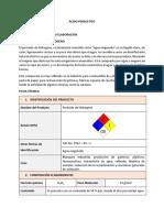 Materias Primas y Fichas Tecnicas de Compuestos