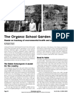 The Organic School Garden - Hands-on teaching of environmental health and social values - Beyond Pesticides