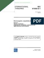 IEC-61000-6-1