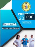 Prospecto Admisión Unheval 2020 II by profewilliamsdavila