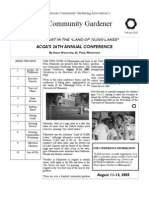 Feb 2005 The Community Gardener Newsletter