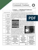 Mar 2006 The Community Gardener Newsletter