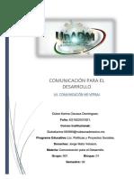 COMUNICACIÓN PARA EL DESARROLLO AUTORREFLEXION.docx